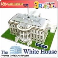 3D立體拼圖之世界好好玩-美國白宮 -