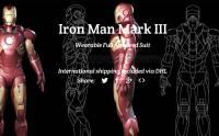 你也可以做 Iron Man: 全副可穿盔甲即將推出 [圖庫]