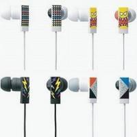 《彩繪方塊》內耳式造型耳機