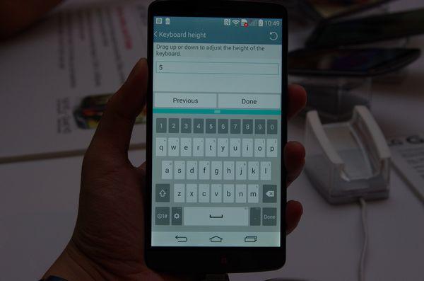 首款一線大廠 QHD 螢幕手機快速體驗, LG G3 動手玩(補上相機晴天拍攝效果)