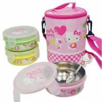 Hello Kitty兒童環保餐具組KS-8012