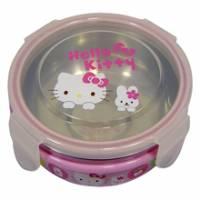 Hello Kitty不鏽鋼兒童隔熱碗KS-8010
