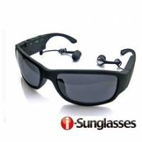 【i-SunGlasses】立體聲雙耳藍芽數位眼鏡