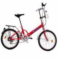 Gimlet東方紅20吋五段變速摺疊腳踏車 紅色