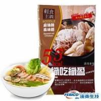 《纖吃纖盈》閃澱纖盈麵-麻油雞風味 2014.03.05