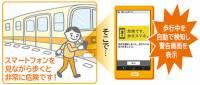 日本DOCOMO正開發智慧手機步行使用警告機能