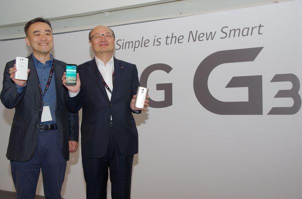 LG G3 預計於七月初在台推出,初期將推三款顏色並附屬無線充電背蓋