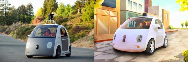 Google 正式公佈「自動駕駛汽車」設計
