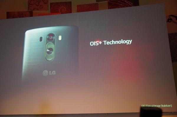 跟在英國於凌晨時間發表之後, LG 也在新加坡進行亞太區 G3 的發表活動