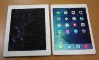 去年沒買 iPad 4 的你非常幸運!iPad Air 和 iPad 4 外觀比較