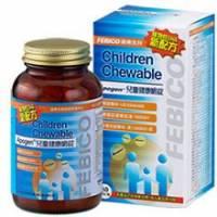 《遠東生技》Apogen兒童健康嚼錠 80g 1瓶組