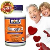 《美國NOW》Omega-3深海魚油 100顆 瓶