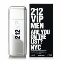 Carolina Herrera 212 VIP 男性淡香水 50ml -贈隨機針管