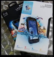 讓你的 Samsung GALAXY SIII 防水又抗摔 LifeProof 專用型防水保護殼