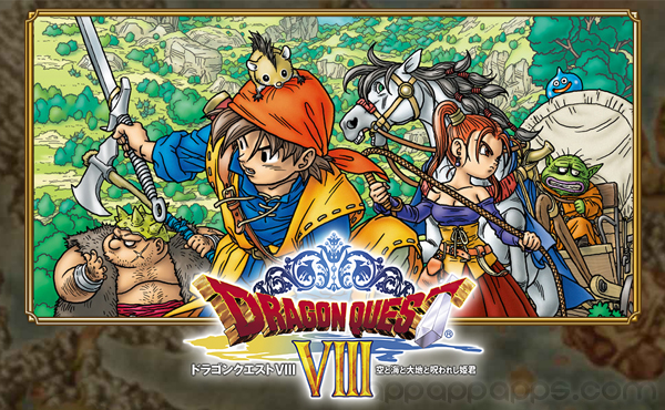 PS2超經典RPG移植: Dragon Quest VIII登陸iOS/Android [影片]