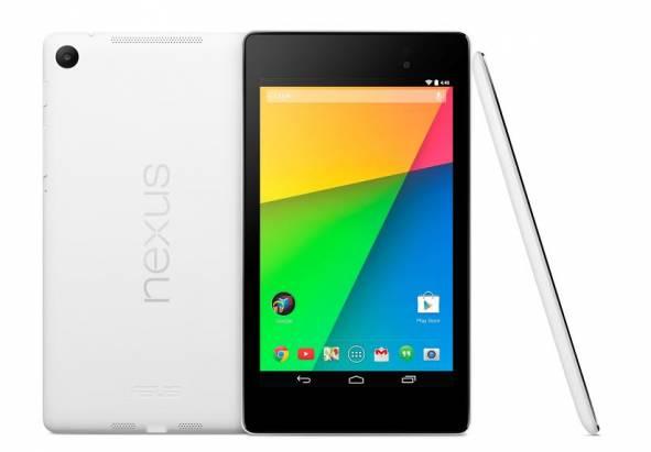 華碩宣布將在台推出雪花白 Nexus 7 ,並於台中資訊月亮相