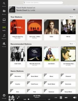 電話平板免費聽歌: Spotify新推iOS/Android免費音樂串流播放 [影片]