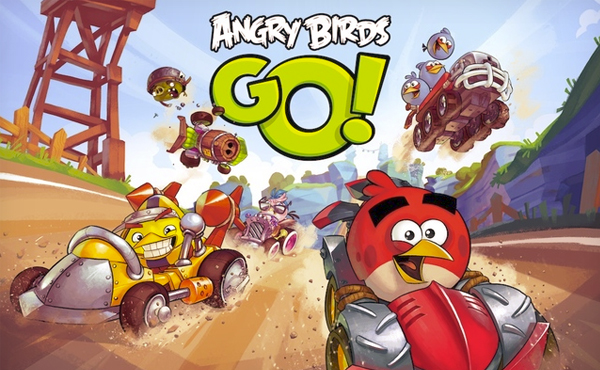 "Angry Birds玩轉賽車: 類Mario Kart遊戲""Angry Birds Go!"" [影片]"