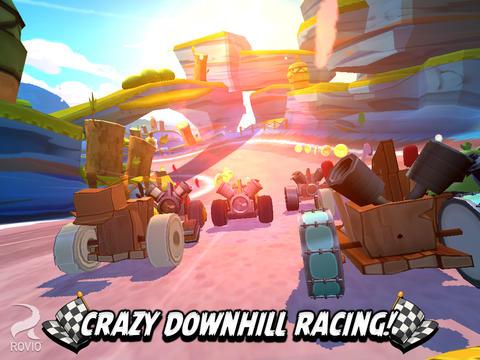 "Angry Birds玩轉賽車: 類Mario Kart遊戲""Angry Birds Go!"" [影片]"