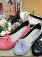 《完美比例》細版淑女造型娃娃鞋~4色