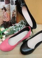 《完美比例》微跟素面多色 方便穿搭簡易造型娃娃包鞋~3色