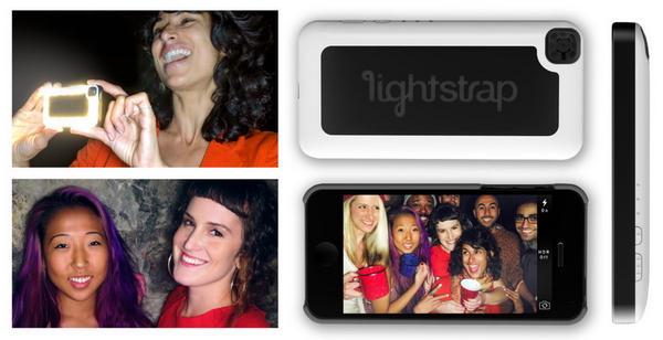 iPhone 5 手機殼變環形燈 – Lightstrap