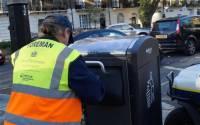 智慧垃圾桶 用太陽能發短訊
