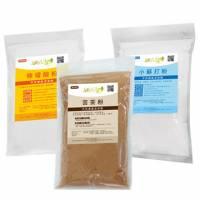 【JoyLife】環保清潔劑體驗組 苦茶粉+檸檬酸+小蘇打粉