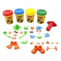 【培培樂】彩色創意黏土組-彩泥巧比家族