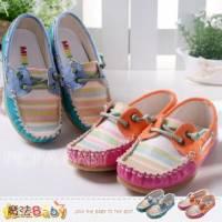 【魔法Baby】台灣製造百貨專櫃正品~多彩撞色花邊休閒鞋~女童鞋~sh2419