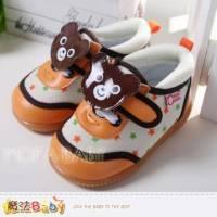 魔法Baby~【KUKI酷奇】可愛小熊啾啾叫寶寶鞋~男女童鞋~sh2457