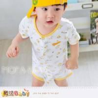 魔法Baby~日系寶寶短袖連身衣 包屁衣 6~24M ~男童裝~k28331