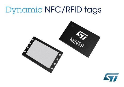 針對萬物皆連網趨勢, ST 推出動態 NFC 標籤 M24SR
