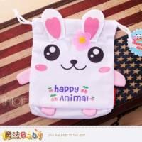 魔法Baby~超Q束口小物包 小白兔 ~嬰幼兒用品~時尚設計~c0065