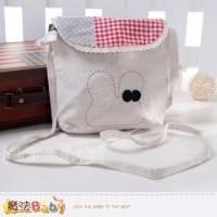 魔法Baby~兔子拼布方型側背包~大人 小孩用品~f0119