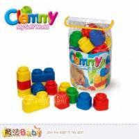 魔法Baby~【clemmy品牌】義大利原裝進口軟積木~24pcs袋裝積木~a14715