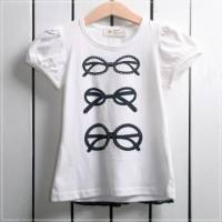 【換季↘69折】魔法Baby ~三副眼鏡潮流上衣~童裝~女童裝~時尚設計童裝~k19261