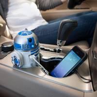 願原力與大家的電話同在,來個機器人來充Android手機吧,最強大有梗的R2-D2車充