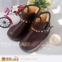 【魔法Baby】SPORT英文印時尚簡約雪靴 休閒鞋~男女童鞋~sh3201