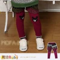 【魔法Baby】DODOMO品牌~假兩件耶誕長褲 褲子~女童裝~k30921