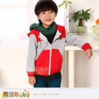 魔法Baby~DODOMO品牌~牛角扣連帽厚外套 上衣~男女童裝~k30938