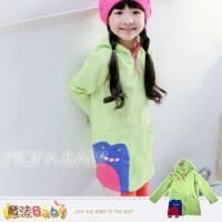 魔法Baby~連帽個性長版上衣 連身裙~女童裝~k32291