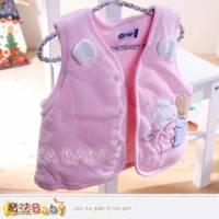 魔法Baby~百貨專櫃正品~細雪絨厚款鋪棉背心外套~女童裝~k32413