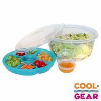 【美國Cool Gear】冰晶大型沙拉盤