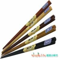 【JoyLife】超值10雙自然風八角木箸