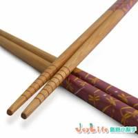 【JoyLife】超值15雙自然風高雅竹筷