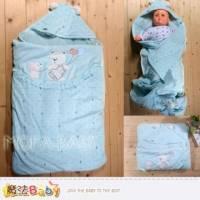厚鋪棉包被~百貨專櫃精品雙層厚鋪棉極暖抱被~嬰幼兒用品~魔法Baby~k33120