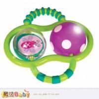 幼兒玩具~雙球抓鈴-燈光~兒童玩具~魔法Baby~a80022