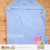 包巾~純棉嬰兒包巾 藍.粉.黃 ~嬰幼兒用品~魔法Baby~k00620