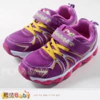 女童鞋~抗菌防臭電燈型運動鞋~魔法Baby~sa37327